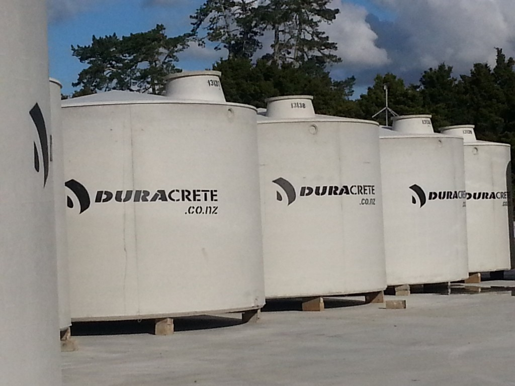 Attenuation Tanks – Duracrete