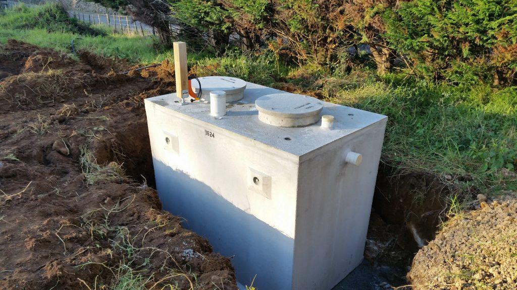 4 500 Litre Pumped Septic Tank With D25va Pump High Level